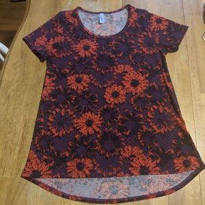 LulaRoe floral classic t